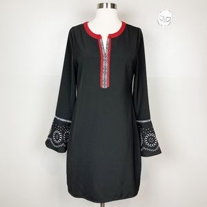 C. LUCE • Bell Sleeve Tunic Dress
